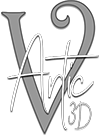 vArtic3D Logo